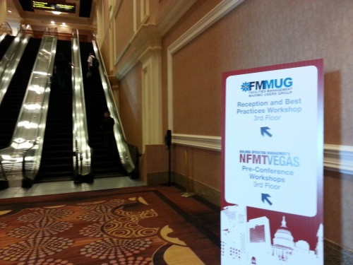 Escalator to FMMUG and NFMT Vegas