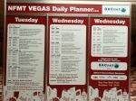 NFMT Vegas daily planner