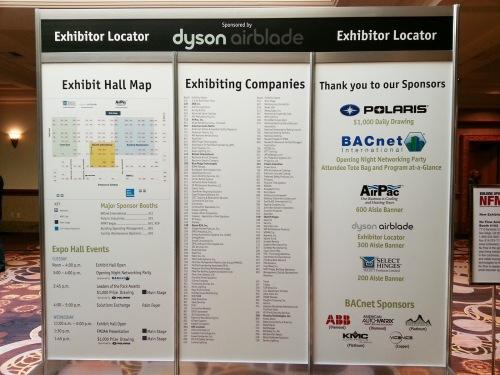 NFMT Vegas exhibitor locator
