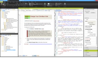Madcap Flare: Topic XML view and text view