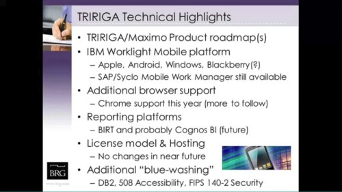 BRG-TRIRIGA users' group