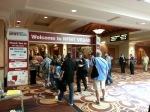 Entrance to NFMT Vegas exhibit hall