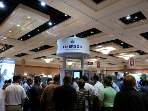 Emerson Network Power booth