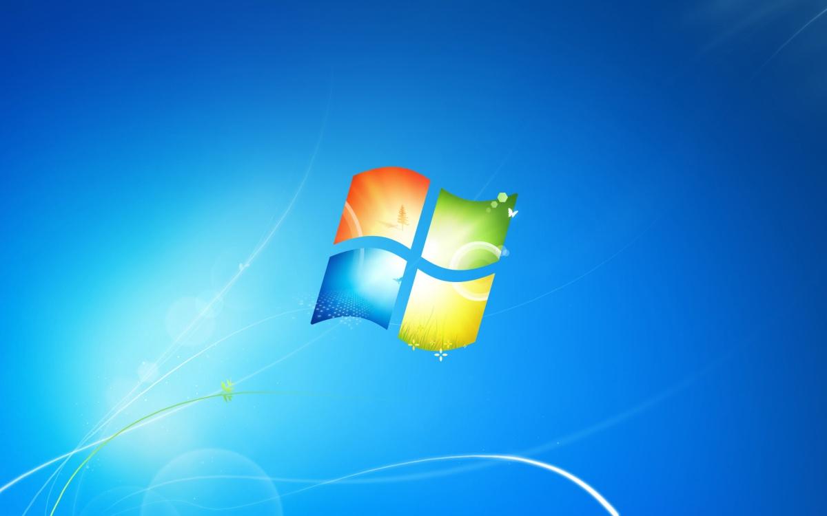 windows 7 default wallpaper 2009