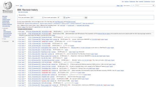 Wikipedia: History mode