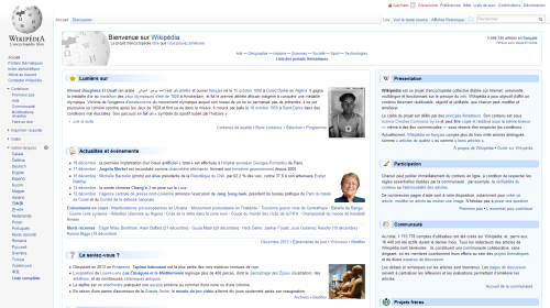 Wikipedia: French version