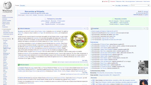 Wikipedia: Spanish version