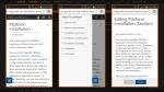 TRIRIGAPEDIA: Mobile viewing and editing