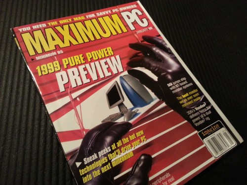 Maximum PC: January 1999