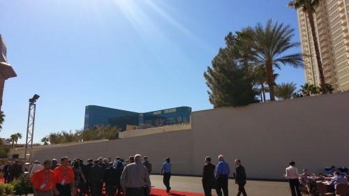 MGM North Pavilion path