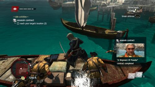 Assassin's Creed IV: Black Flag (on 2011 Windows 7 CyberPowerPC Xplorer)