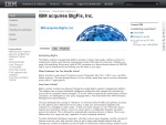 IBM acquires BigFix, Inc.