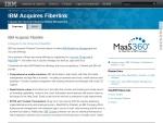 IBM Acquires Fiberlink