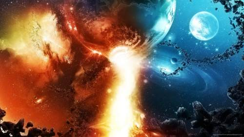 PickyWallpapers: Space Fire