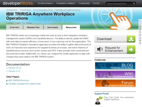 IBM TRIRIGA Anywhere Workplace Operations