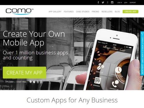 Como app-creation platform