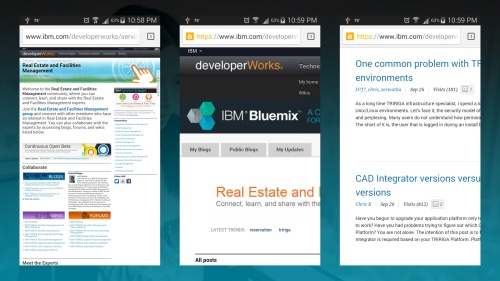 IBM developerWorks (mobile)