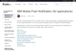 IBM Mobile Push Docs (desktop)