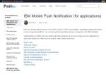 IBM Mobile Push Docs (desktop)