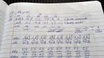 Hangul writing exercises
