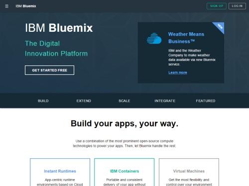 IBM Bluemix (PaaS)