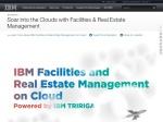 """IBM TRIRIGA """"On Cloud"""" (SaaS)"""