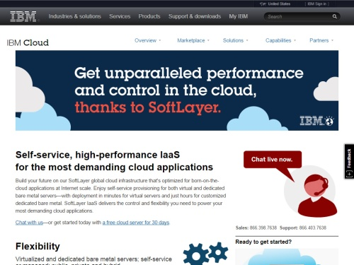 IBM SoftLayer (IaaS)