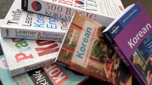 Korean paperbacks