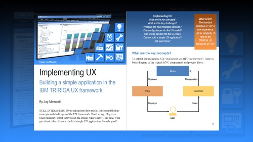 TRIRIGA UX Article 2