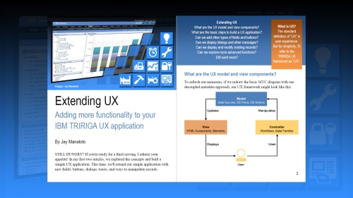 TRIRIGA UX Article 3