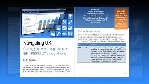 TRIRIGA UX Article 4
