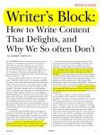STC Intercom: Writer's Block