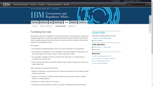 IBM supports TPP