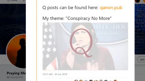 Q: Conspiracy No More (01 Jul 2018)